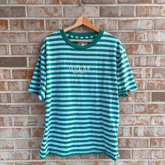 Guess | Oversized Striped T-Shirt